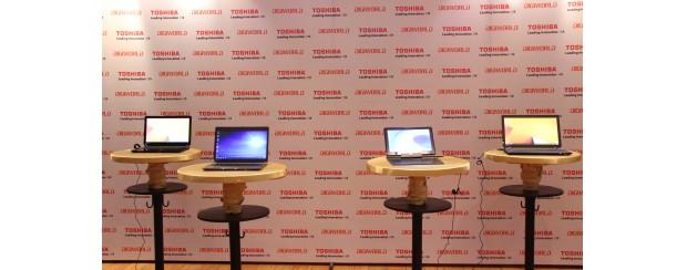 Toshiba ra mắt dòng sản phẩm Satellite mới