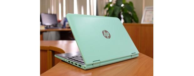 Laptop màn hình xoay 360 độ dùng loa cao cấp của HP