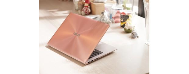 Asus ra laptop có màu vàng hồng như iPhone 6s