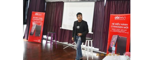 Obi Worldphone ra mắt MV1 phiên bản RAM 2GB chạy HĐH Cyanogen
