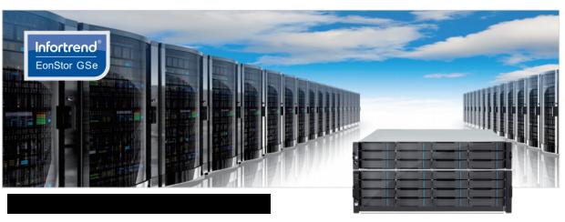 EonStor GSe Unified Storage - giải pháp lưu trữ hợp nhất dành cho doanh nghiệp