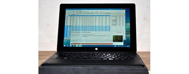 """Đánh giá máy tính """"biến hình"""" của CINK TAB EX10415W"""