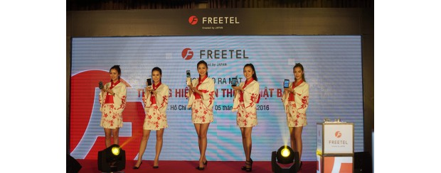 FREETEL – thương hiệu điện thoại Nhật Bản gia nhập sân chơi Việt