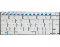 (KEYBOARD) RAPOO E6300 BLUETOOTH/ULTRASLIM/IPAD/TRẮNG (WHITE) (11035)