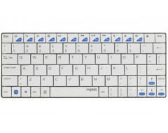 (KEYBOARD) RAPOO E6500 BLUETOOTH/ULTRASLIM/ANDROID/TRẮNG (WHITE) (11041)