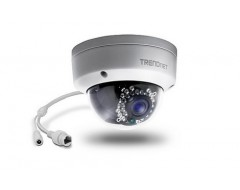CAMERA TRENDNET OUTDOOR 1.3MP HD POE DOME IR NETWORK (TV-IP321PI)