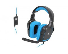 (HEADSET) LOGITECH G430 SURROUND SOUND GAMING HEADSET - ĐEN (BLACK)  (981-000538)
