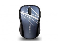 (MOUSE) RAPOO 3100P WIRELESS/OPTICAL/XANH DƯƠNG (BLUE)  (11015)